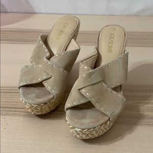 Guess Cream Wedges